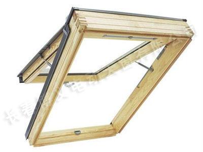 木质上悬天窗