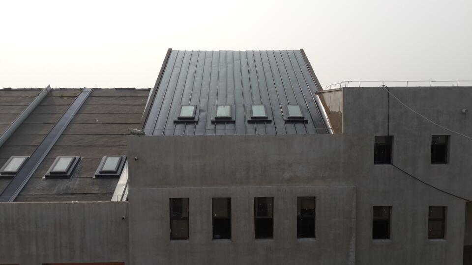 长春豪邦地产木质天窗项目